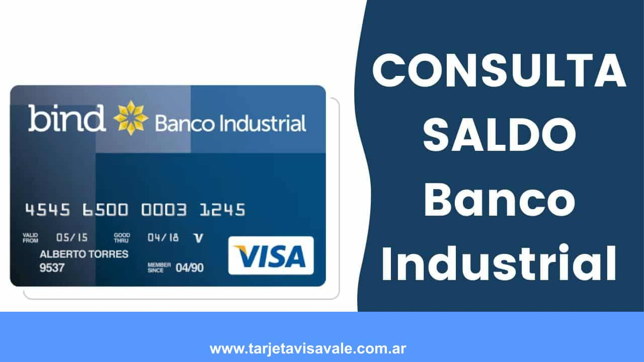 ¿Como Consultar el SALDO del Banco Industrial?