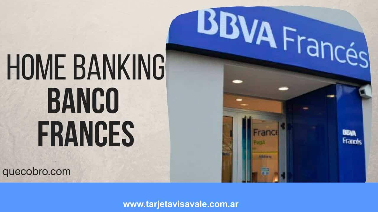 ¿Cómo Hacer Home Banking BBVA Francés? Ingresar