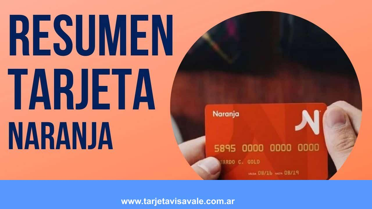 ¿Como Obtener MI Resumen de Cuenta de Tarjeta Naranja?