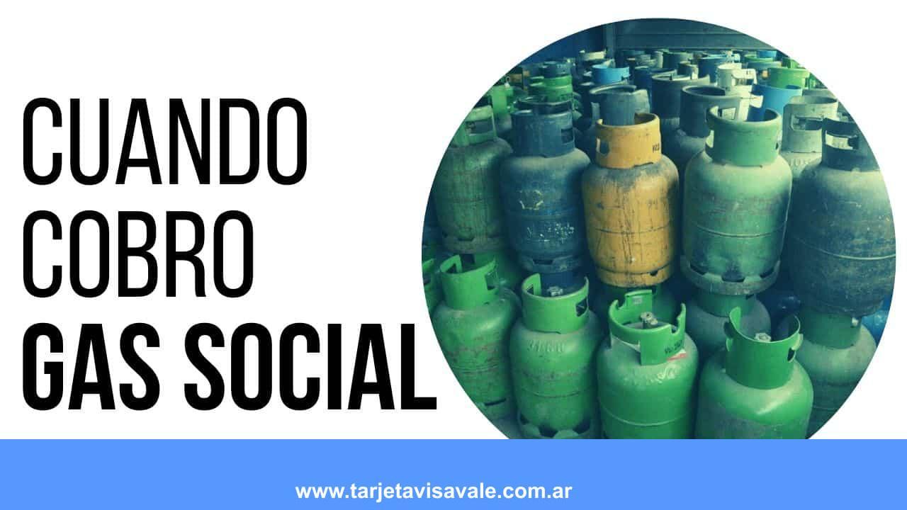 ¿Cuando Cobro el Gas Social ANSES? Septiembre 2020