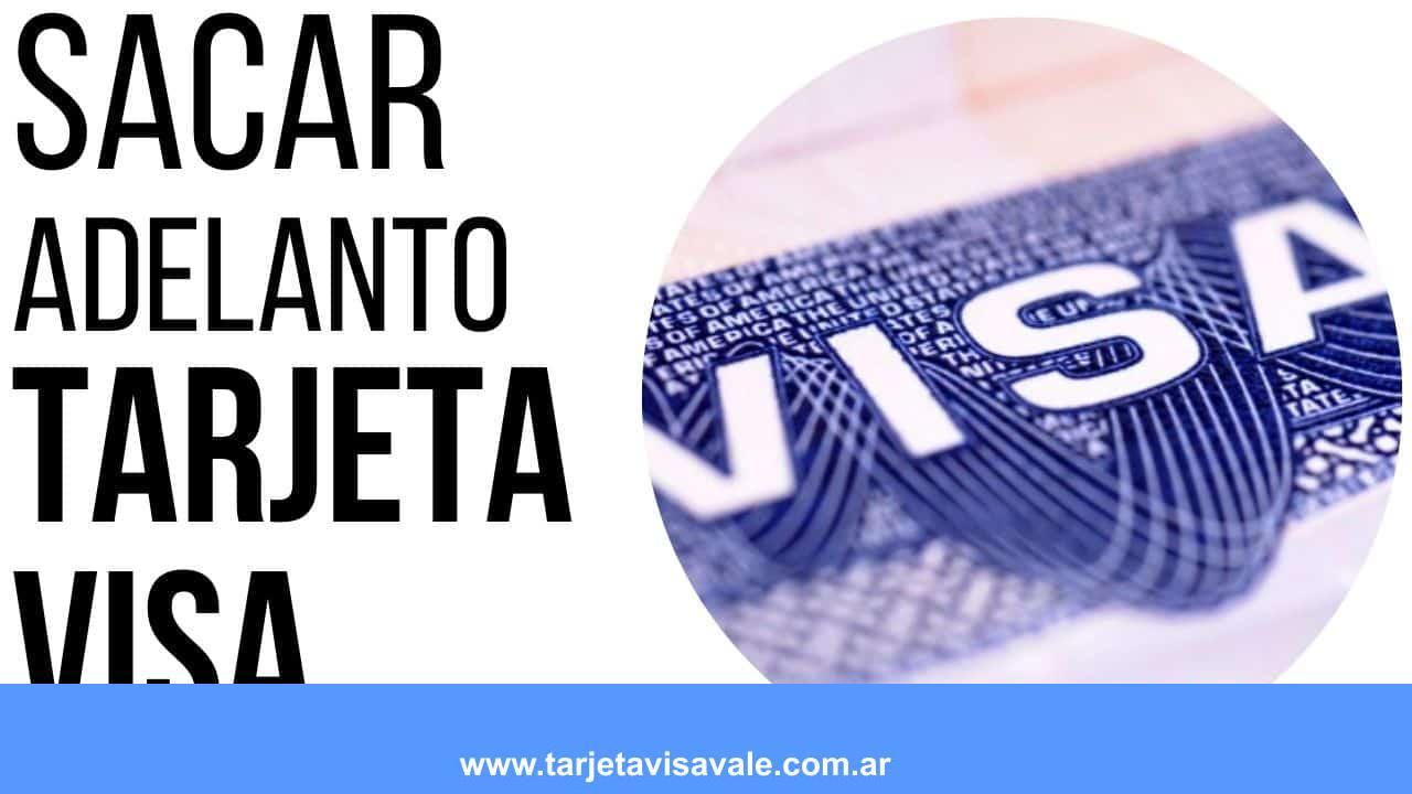 sacar adelanto con tarjeta de crédito visa