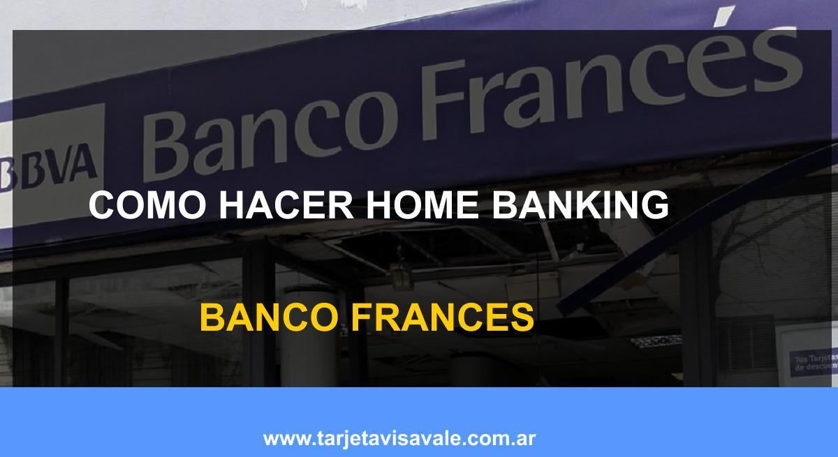 Como Hacer Homebanking BBVA Frances