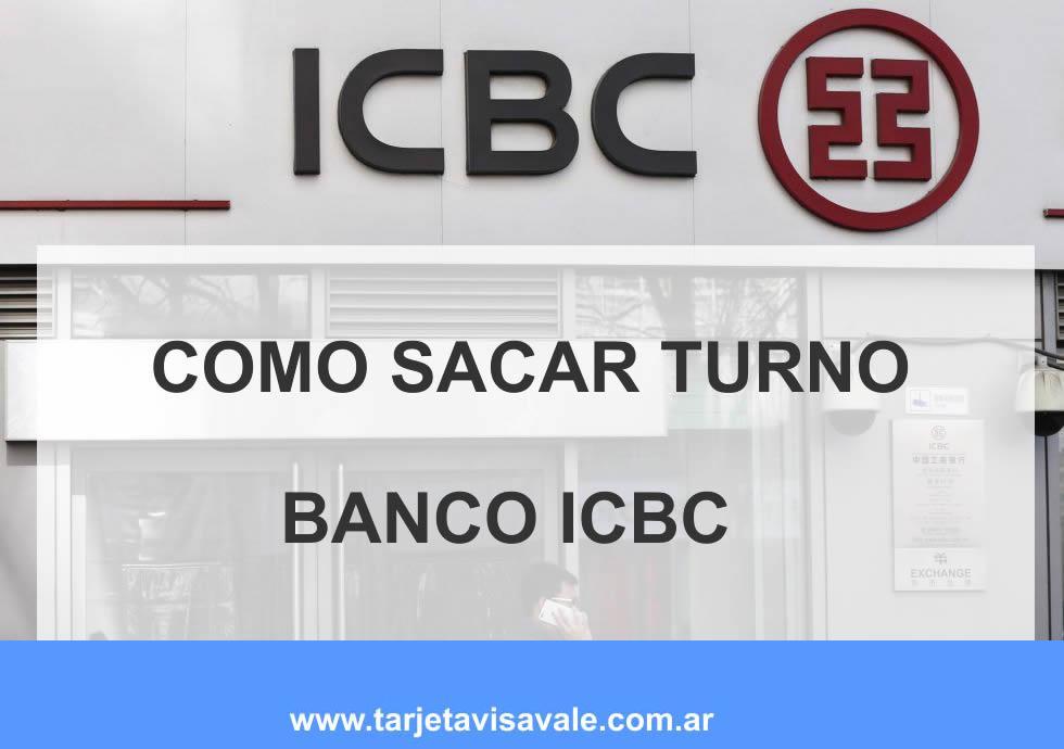 Cómo Solicitar Turno en Banco ICBC Sacar Turno