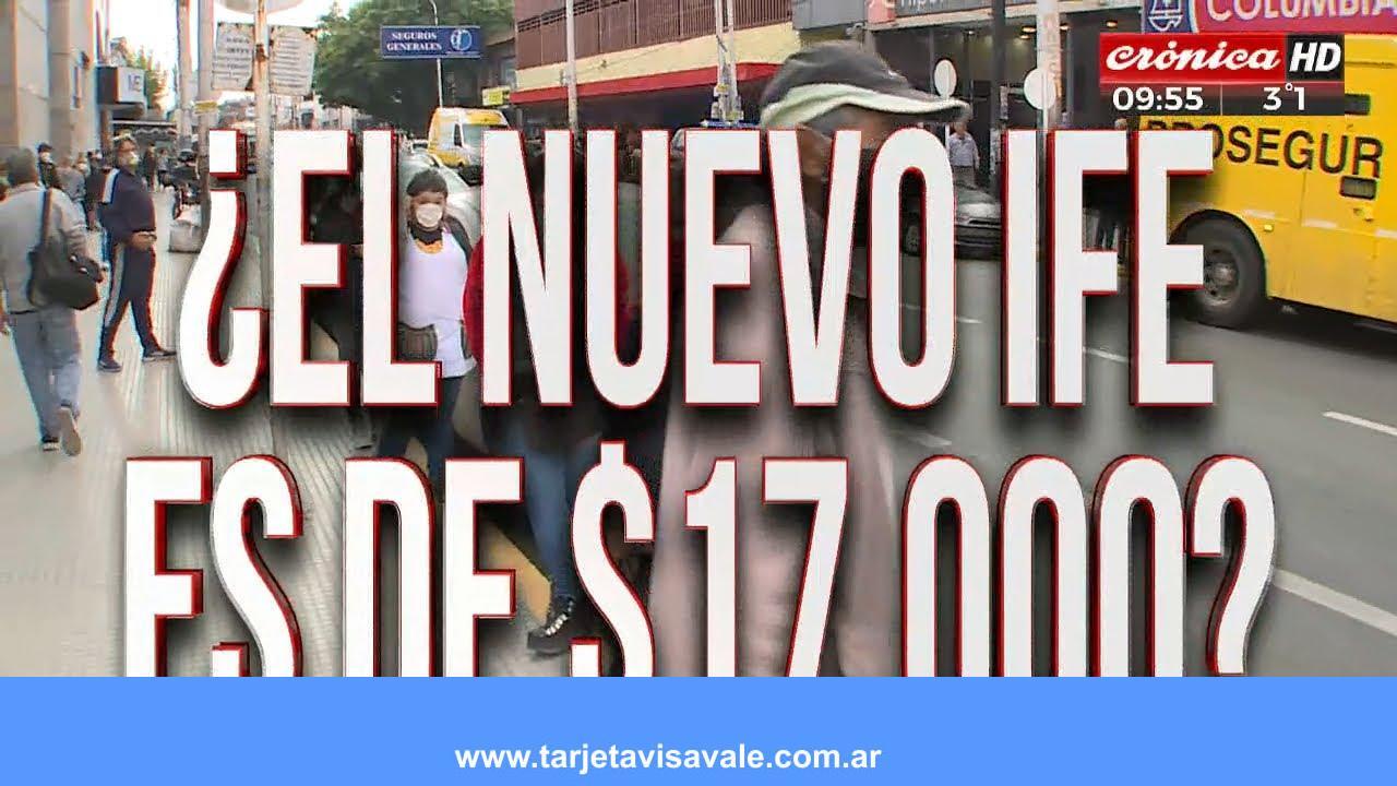 IFE 17000 pesos Como Cobrar Requisitos Hay que anotarse