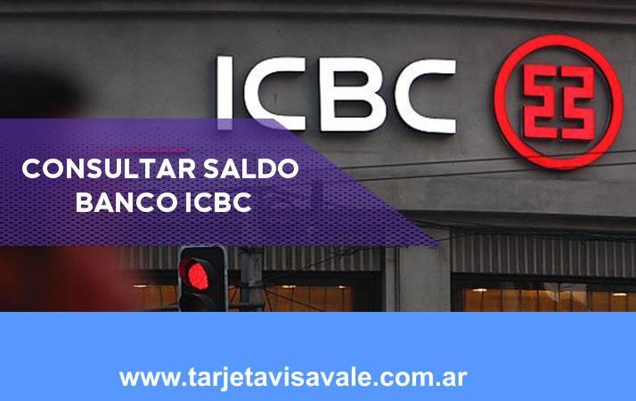 Consultar Saldo Banco ICBC Cuales son las opciones