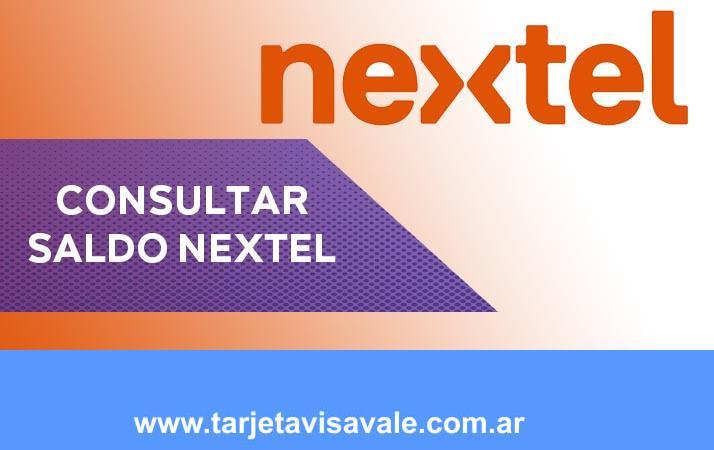 Consultar Saldo Nextel | Como consulto por mi linea