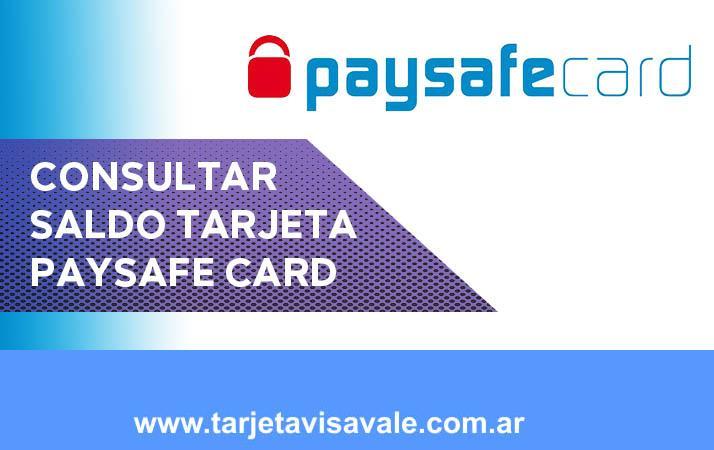 Consultar Saldo Paysafecard Tu tarjeta más segura