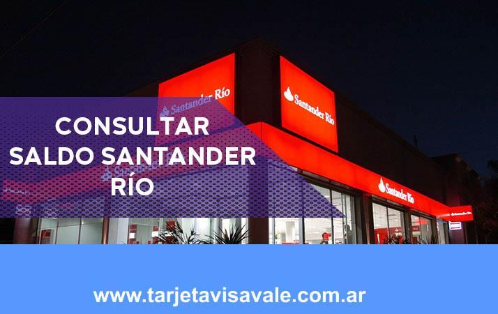 Consultar Saldo Santander Rio