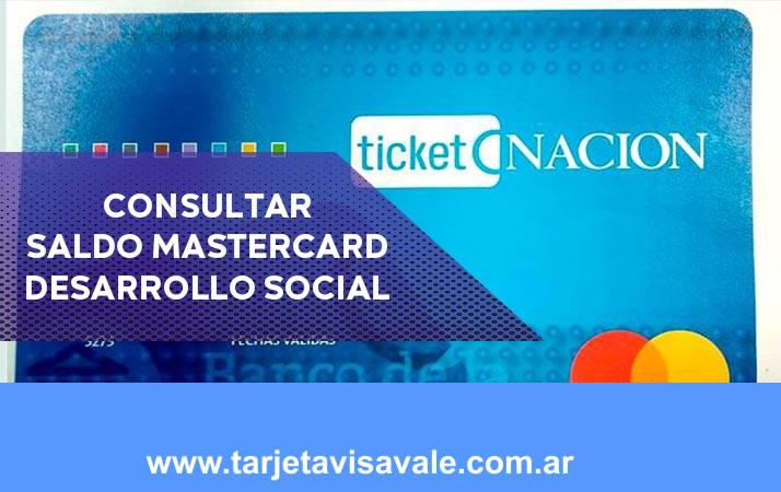 Consultar Saldo Tarjeta MasterCard Desarrollo Social