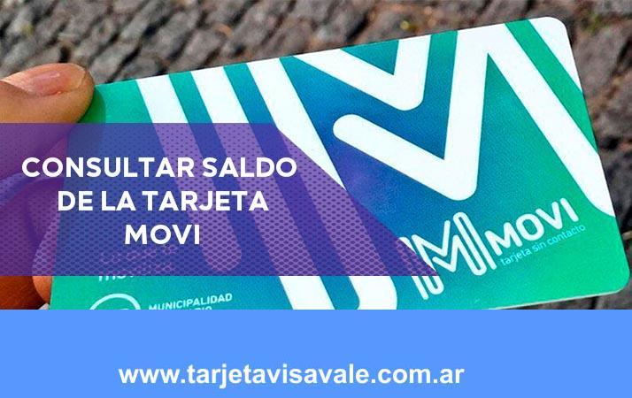Consultar Saldo Tarjeta Movi | Viajá en el transporte urbano