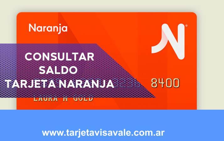 Consultar Saldo Tarjeta Naranja y No especules y averigualo hoy!