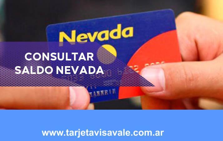 Consultar Saldo Tarjeta Nevada Te contamos sobre sus tarjetas