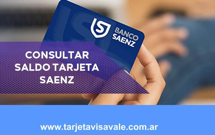 Consultar Saldo Tarjeta Saenz y Fácil y Rápido