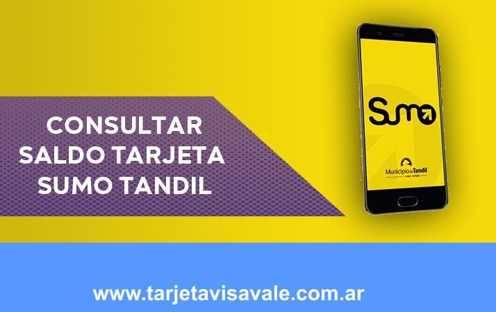 Consultar Saldo Tarjeta Sumo Tandil
