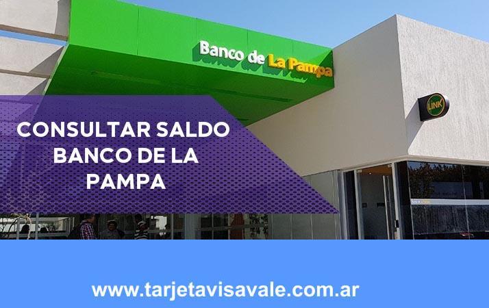 Consultar Slado del Banco de la Pampa Paso a Paso