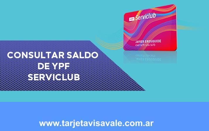 Consultar saldo de YPF Serviclub | Canjeá tus puntos