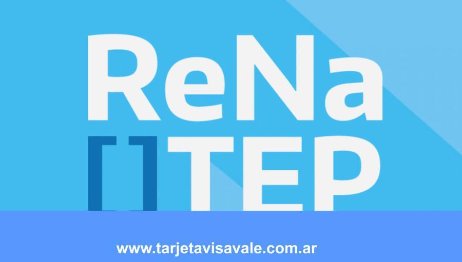 RENATEP Inscripciones 2020 Como completar el Formulario