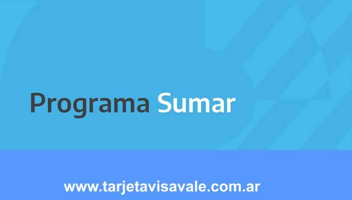 Programa SUMAR ANSES  Inscripcion Formulario Constancia